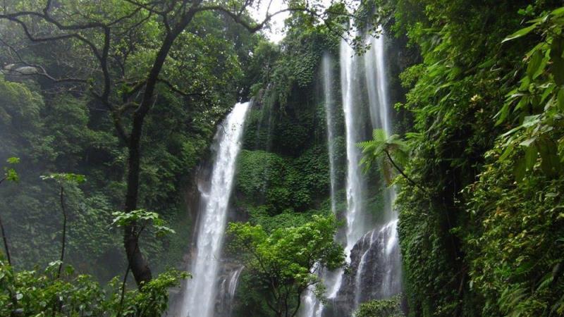 Wisata Air Terjun Blahmantung di Tabanan, Bali